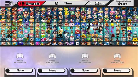 choose your character by scornedflames on deviantart super smash bros beyond all characters with dlc by noahlc