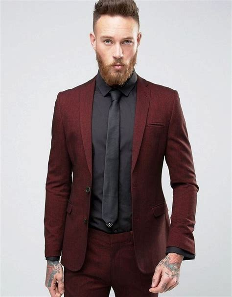 Blouse Brukat Mng Suit Maroon what shirt and tie combinations will go well with a