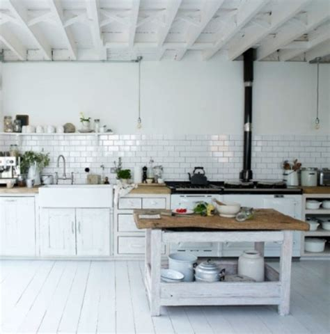 rustic white kitchen 33 rustic scandinavian kitchen designs digsdigs