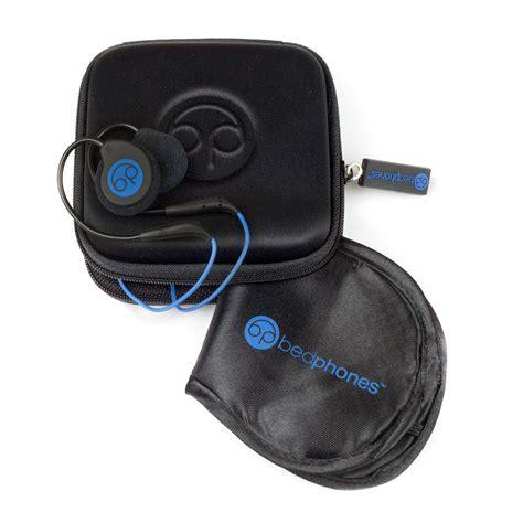 bed phones bedphones sleep headphones black classic bedphones