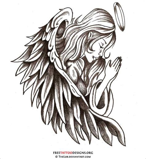 angel wing tribal tattoos 28 drawings free drawings free