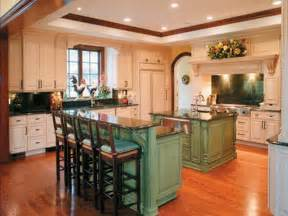 kitchen green kitchen island with breakfast bar kitchen