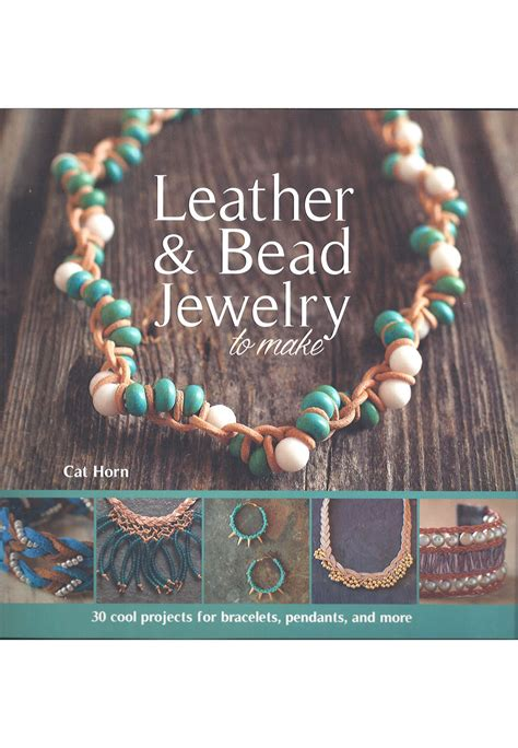 create sted jewelry books book leather bead jewelry to make cat horn