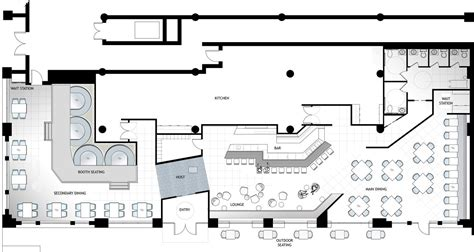cafe kitchen floor plan architect restaurant floor plans google search 2015