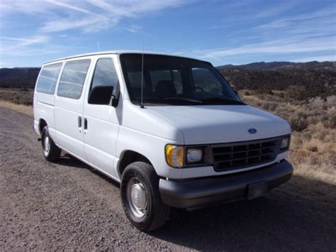 how to sell used cars 1993 ford econoline e150 instrument cluster barn find 1993 ford e150 passenger van 45k miles diy cer van moto make offer classic ford e