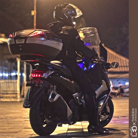 Knalpot N Max Silincer 250 Fi modifikasi yamaha nmax pakai knalpot 250 fi keren banget ndes motomazine