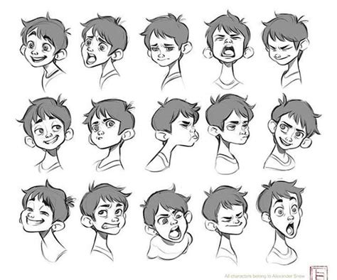 Drawing Your Feelings by Emotions Character Design Characters