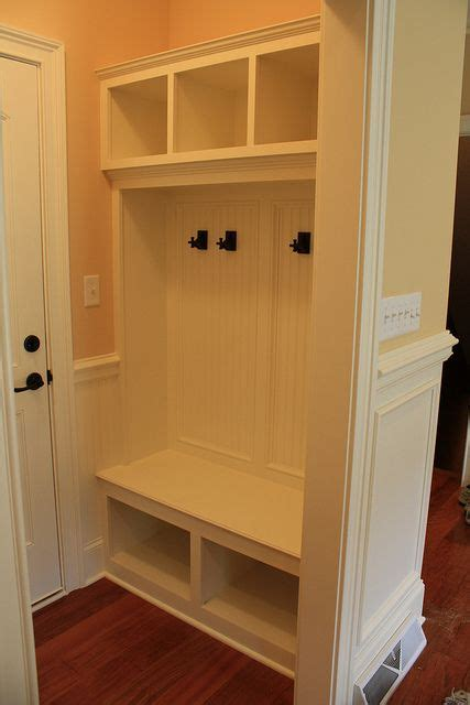 bench with cubbies mudroom with bench cubbies anders house and home pinterest