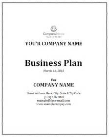 How To Create A Business Plan Template by Sle Business Plan Template Apache Openoffice Templates