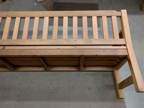redwood bench reclaimed redwood bench woodbin