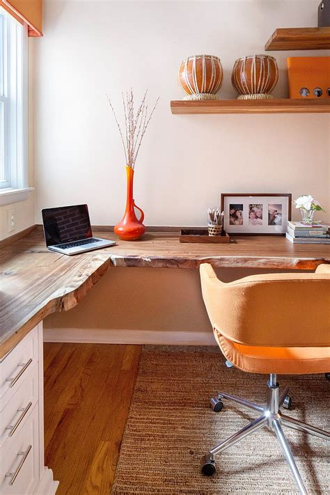 design a desk online natural allure 25 home offices that celebrate the charm