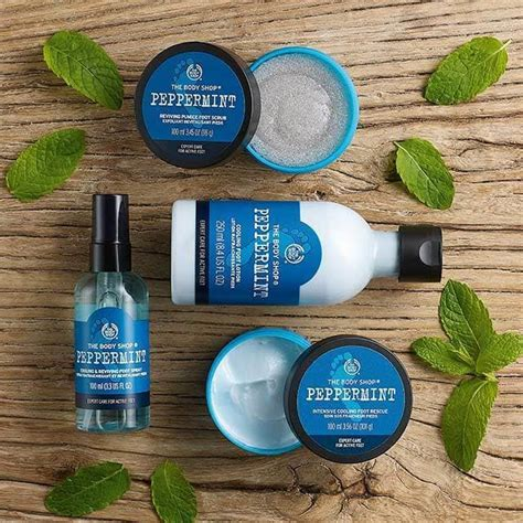 Peppermint Cooling Foot Treatment Rescue 100ml The Shop Peppermint Intensive Cooling Foot Rescue 100 Ml