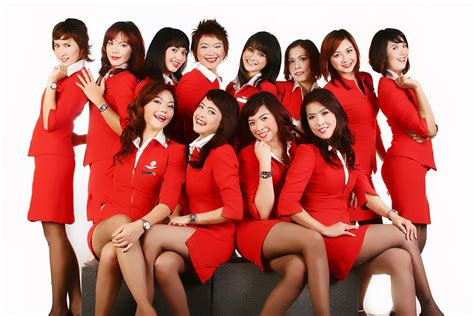 airasia stewardess january 2012 world stewardess crews