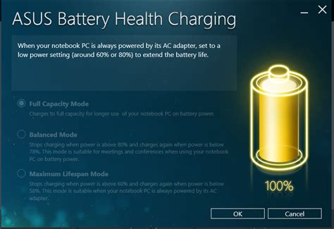 Asus Laptop Battery Plugged In Charging But 0 battery health charging app on my asus gl552vx user