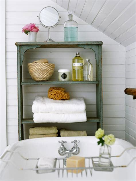 Vintage Bathroom Storage Ideas by Handmade Oak Unfinished Bathroom Storage Idea With