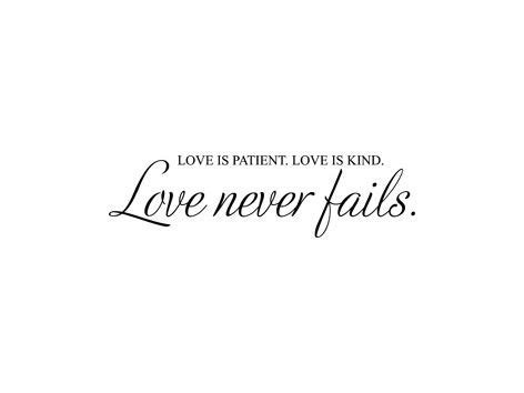 love is patient tattoo never fails hjem 187 livsvisdom 187 is