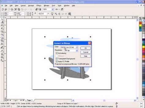 bitmap pattern coreldraw download coreldraw tutorial how to change vector to bitmap image