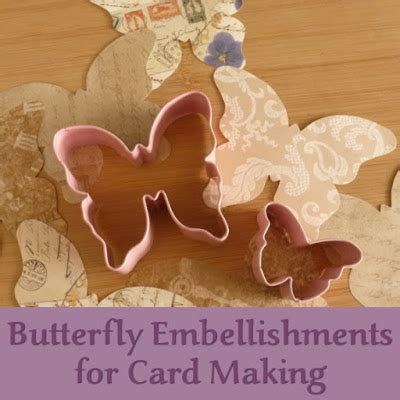embellishments for card pretty butterfly embellishments for card