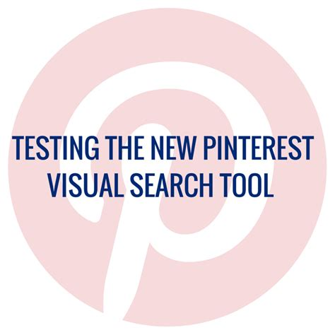 New Search Tool Testing The New Visual Search Tool