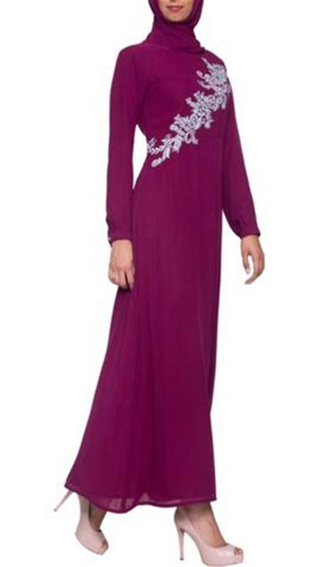 Dress Muslim Hana chic sleeve modest muslim dresses abayas and jilbabs