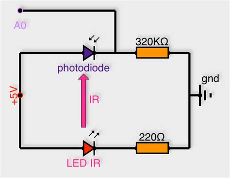 test photodiode 28 images sensor using transistor phototransistor and photodiode build