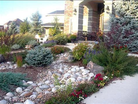 a and j landscaping xeriscape landscaping front yard rocky landscape 171 s j ward landscapes llc in