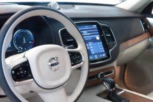 Volvo Xc90 Interior Test Drive The All New 2016 Volvo Xc90 Cool