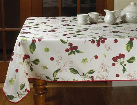 Vintage Kitchen Tablecloths by European Kitchen Cherries Vintage Tablecloths Ebay