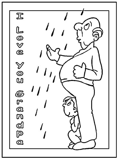 i love you grandpa coloring pages i love grandad colouring pages