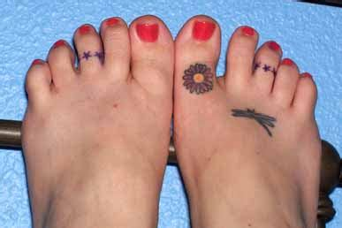 toe ring tattoos designs for designs photos toe ring designs