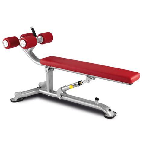 crunch bench bh hi power l835 abdominal crunch bench