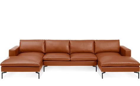6 sofa furniture leather sectional new standard u shaped leather sectional sofa hivemodern
