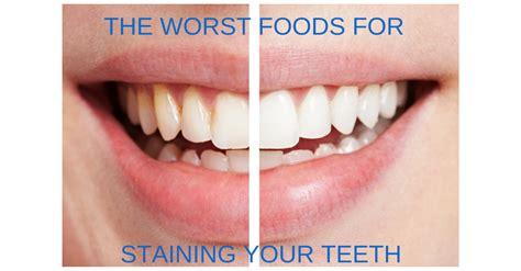 worst food thirtytwo dental