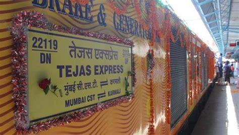 passengers  fell ill  tejas express discharged rail
