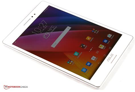 Tablet Asus Zenpad S 8 0 Z580ca test asus zenpad s 8 0 z580ca tablet notebookcheck tests