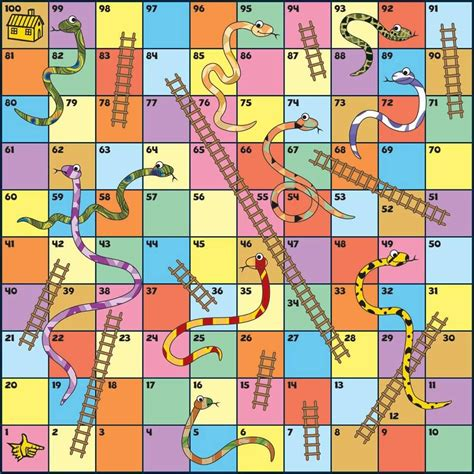 chutes and ladders board template pin de ma luisa en indoors snakes ladders