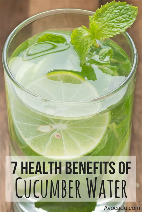 Mint Detox Benefits by 7 Health Benefits Of Cucumber Water 3 Recipes