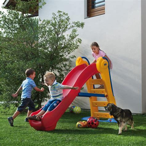 scivolo giardino bambini scivolo in resina per bambini chicco 30200 mondo garden