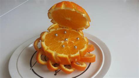 Orange Fruit Decoration by D 233 Coration D Une Orange Fruit Carving Orange