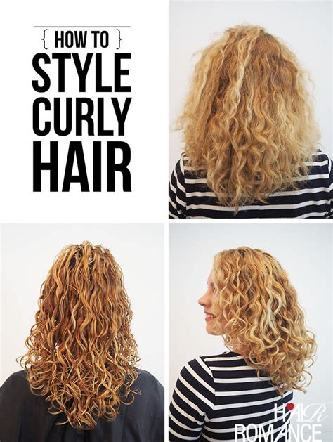 how to style natural curly hair step by step how to style curly hair for frizz free curls video