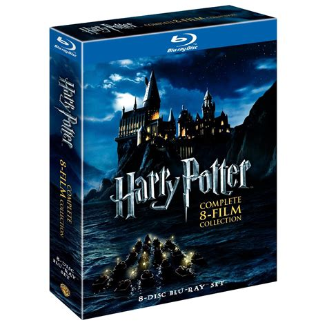 blu ray film harry potter complete 8 film collection blu ray 8 disc box