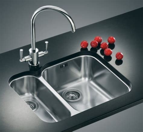 franke undermount kitchen sinks franke ariane arx160d kitchen sink