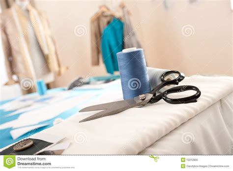 fashion design equipment list fashion designer studio with equipment stock photo image