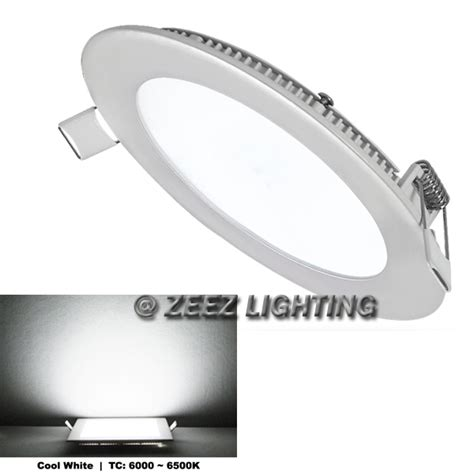 Gratis Ongkir Led Panel Light 12w Cool White 470 Lumens cool white 12w led recessed ceiling panel lights bulb l fixture ebay