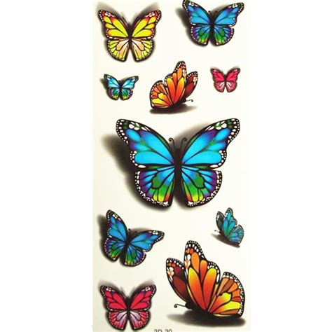 online buy wholesale butterfly tattoo small from china