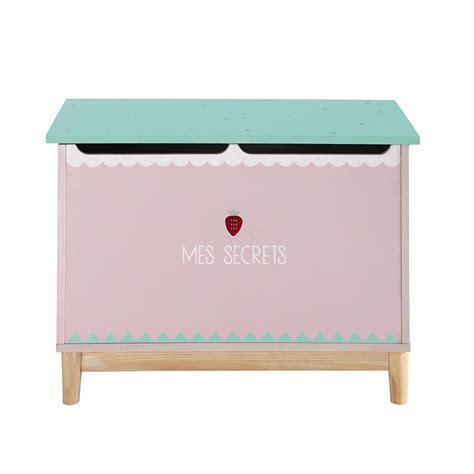 mobili giocattoli per bambini cassapanca per giocattoli bambino rosa berlingot maisons
