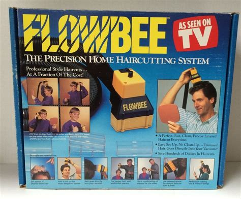 flowbee vacuum haircut system get hot as seen on tv chacha vintage original flowbee precision home haircutting vacuum