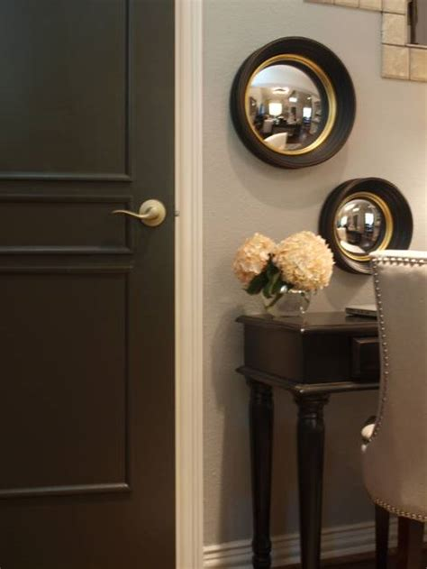 Black Painted Interior Doors 30 Black Interior And Exterior Doors Creating Brighter Home Decorating