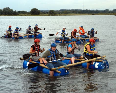 boat making games raft building adventure outdoor team building