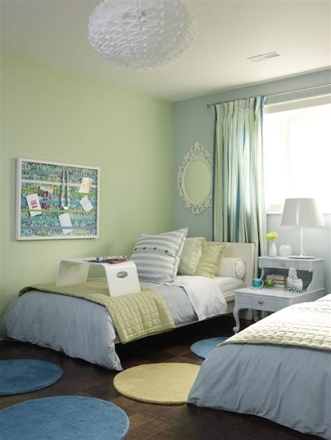kid room green and blue room contemporary boy s room ici